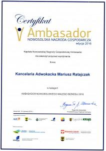 06.07.2016 ambasador mały biznes