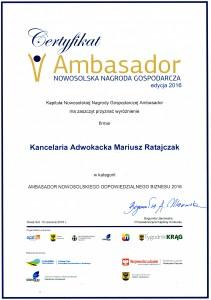 06.07.2016 ambasador odpowiedzialny biznes